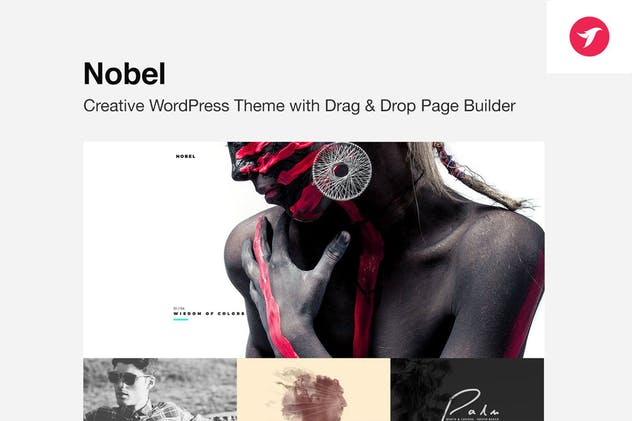 NOBEL - Minimal Multi-Concept WordPress Theme
