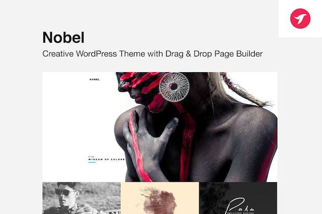 NOBEL - Minimal Multi-Concept WordPress Theme