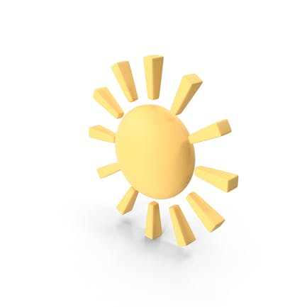 Sonniges Wetter Symbol