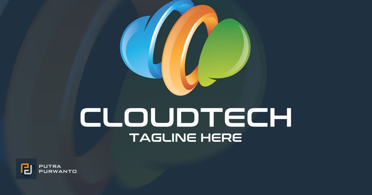 Download Cloud Tech - Logo Template by putra_purwanto