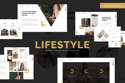 Стиль жизни — Шаблон Powerpoint