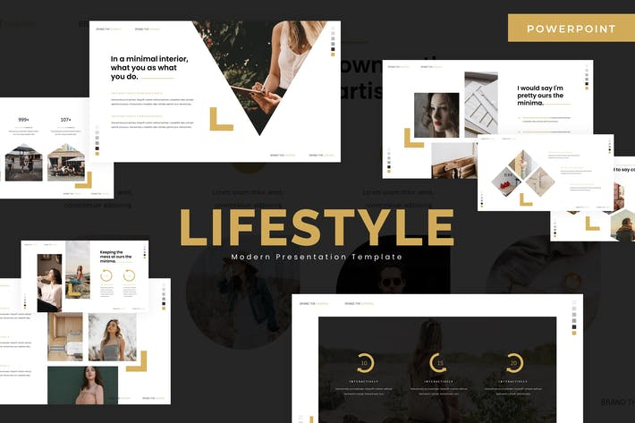 Thumbnail for Lifestyle - Powerpoint Template