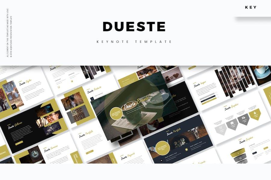 Dueste - Keynote Template