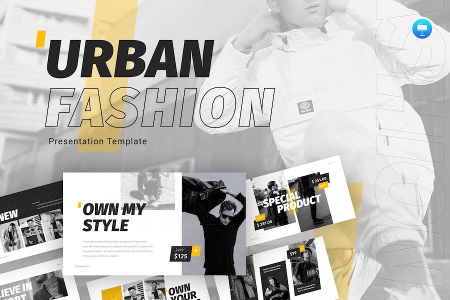 Urban Fashion Keynote Template