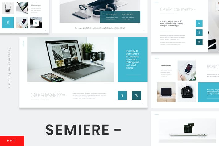 Thumbnail for Samiere - Technology Powerpoint Template