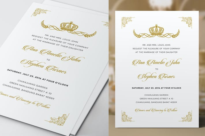 Thumbnail for Royal Wedding Invitation
