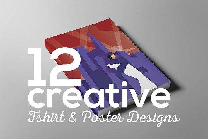 Cover Image For Creative poster t-shirt designs