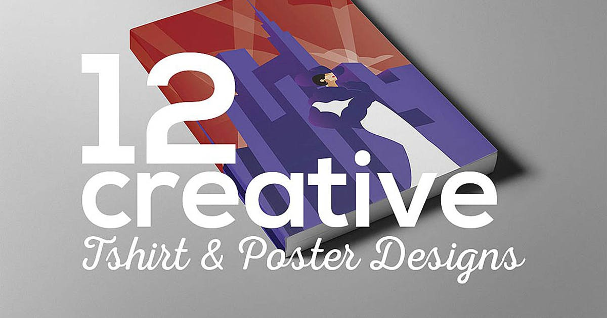 Download Creative poster t-shirt designs by cruzine