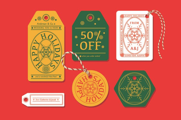 Ho-Ho-Holiday Labels