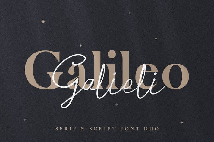Thumbnail for Galileo Galilei - Serif & Script Duo
