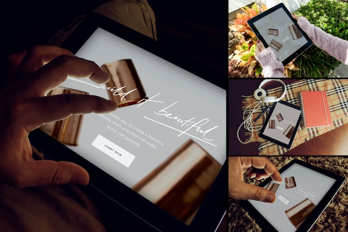 Cover Image For iPad App Mockup