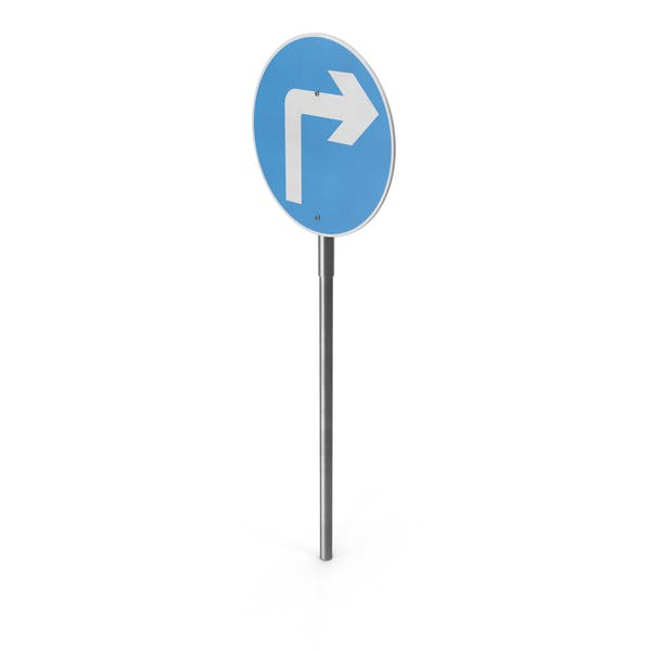 Thumbnail for Right Turn Sign