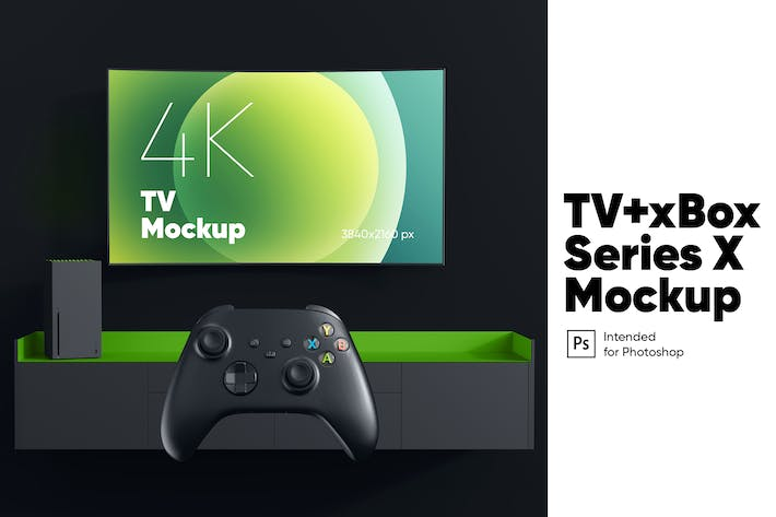 Thumbnail for TV+xBox X Mockup