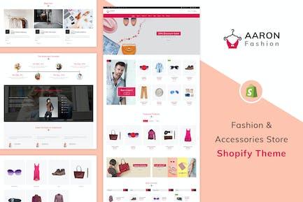 Аарон - Мода Shopify Тема