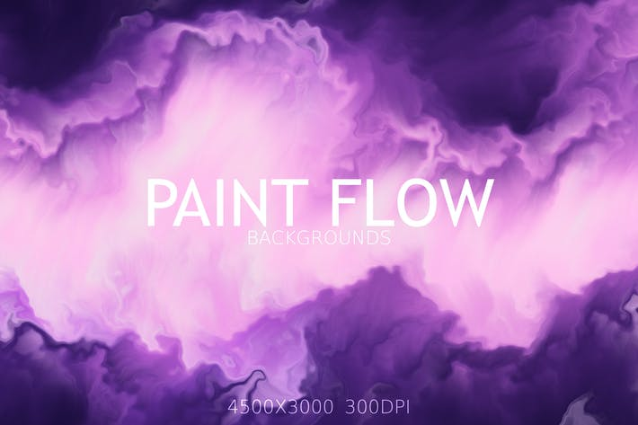 Thumbnail for Paint Flow Background