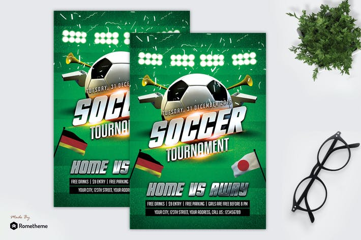 Thumbnail for Soccer V4 - Flyer MR