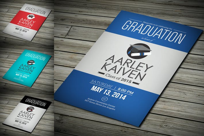 Thumbnail for Simple Graduation Invitation