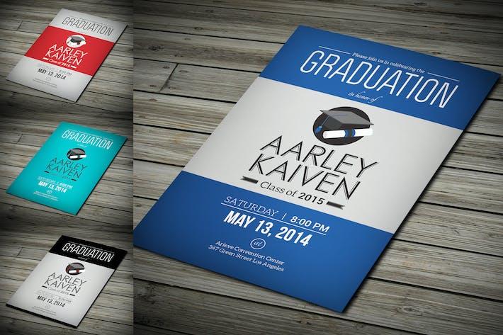 Thumbnail for Invitation simple à la remise des diplômes