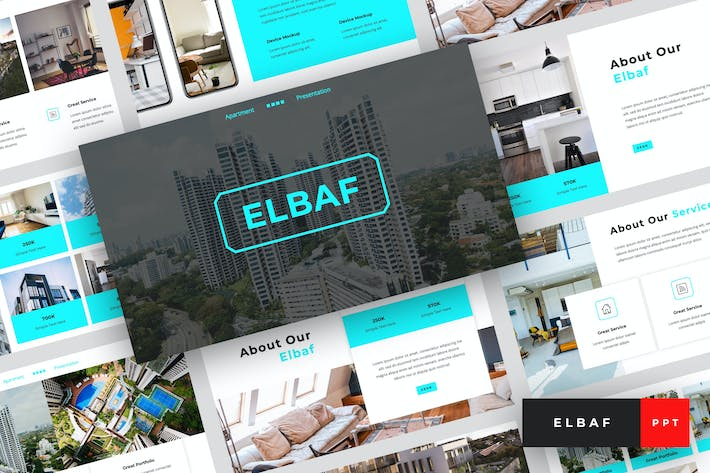 Thumbnail for Elbaf - Apartment PowerPoint Template