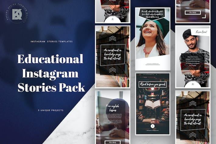 Thumbnail for Educational Instagram Stories