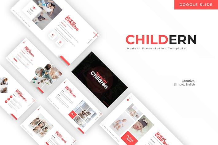 Cover Image For Children - Google Slide Template