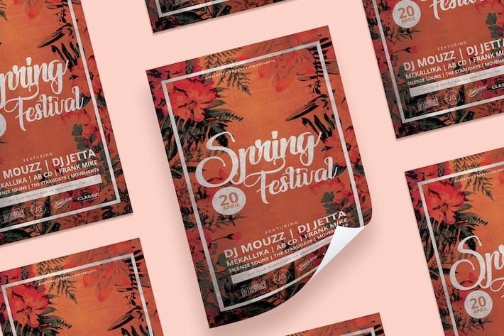 Thumbnail for dépliant du Festival du printemps
