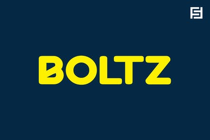 BOLTZ - Unique & Fresh Display / Logo Typeface