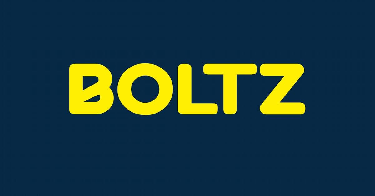 Download BOLTZ - Unique & Fresh Display / Logo Typeface by designova