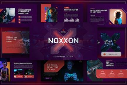 Noxxon - Esport & Gaming PowerPoint