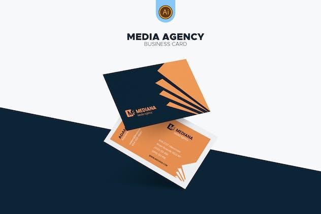 Media Agency Business Card 02