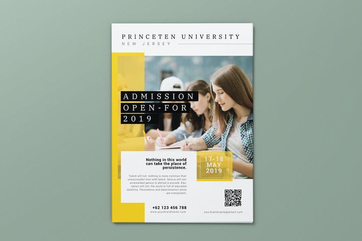 Education Enrollment AI and PSD Flyer Vol.2