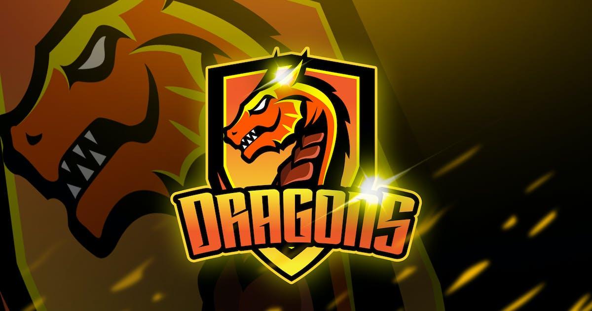 Download Dragons - Mascot & Logo Esport by aqrstudio