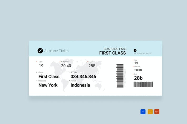 Thumbnail for Airplane Simple TIcketing