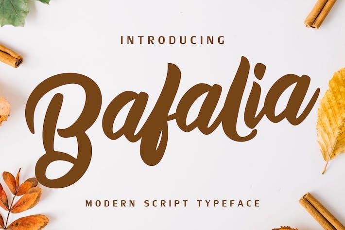 Thumbnail for Bafalia - Fuente de escritura moderna