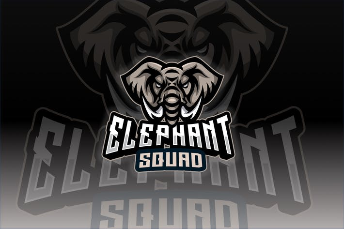 Thumbnail for Elephant Sport and Esport Logo Template