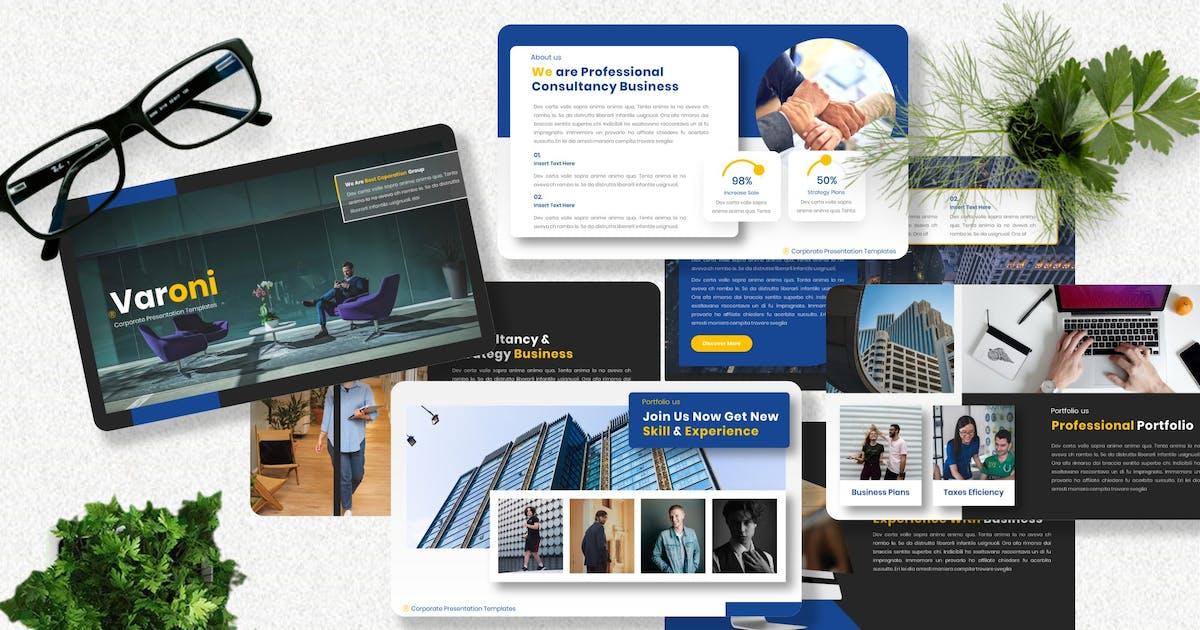 Download Varoni - Corporate Keynote Template by Yumnacreative