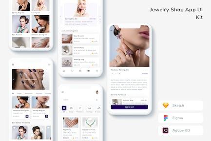 Jewelry Shop App UI Kit