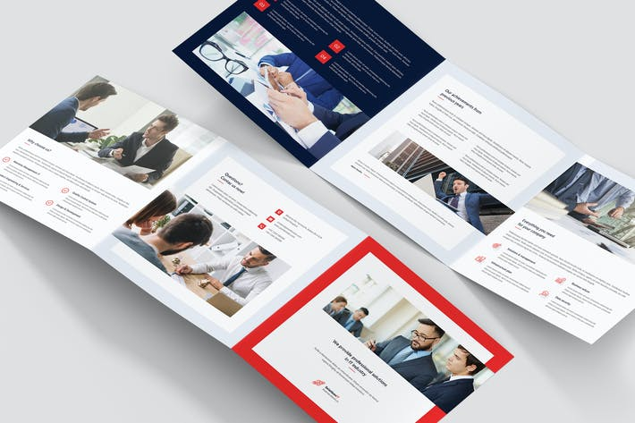 Thumbnail for Brochure – IT Solutions Tri-Fold Square