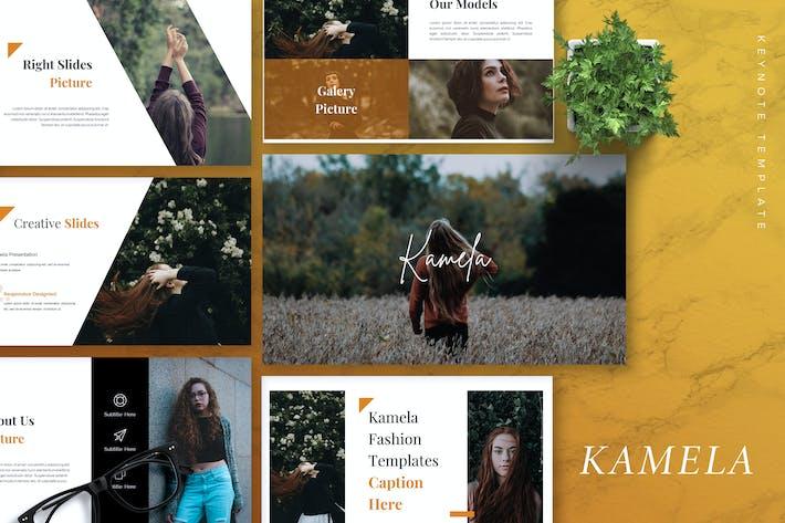 Thumbnail for KAMELA - Шаблон креативной Keynote