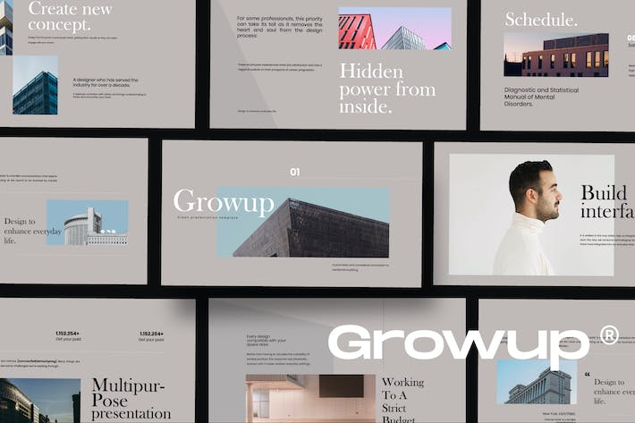 Thumbnail for GROW UP - АрхитекKeynote