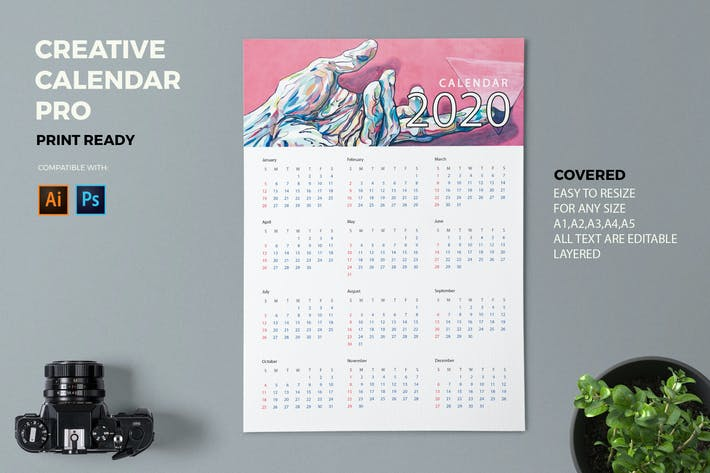 Cover Image For Creative Calendar Pro 2020