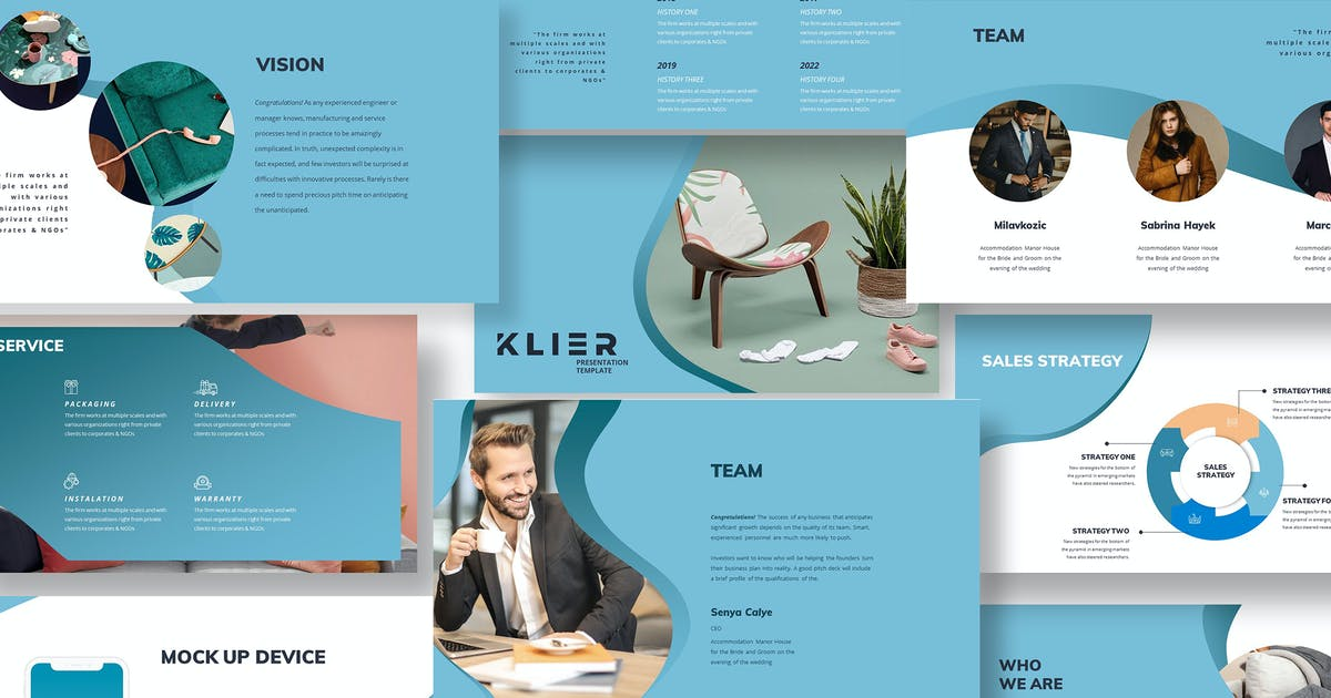 Download Klier Creative Product PowerPoint by Incools