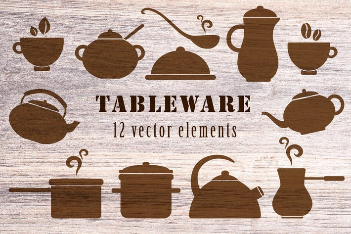 Cover Image For Kitchen Tableware