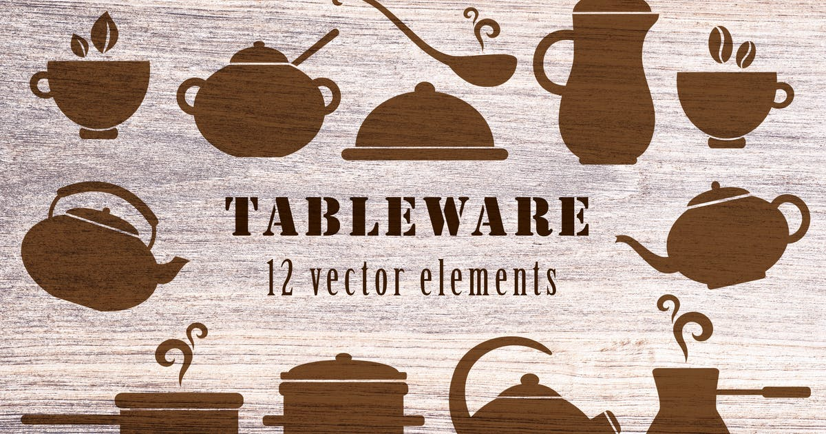 Download Kitchen Tableware by Artness