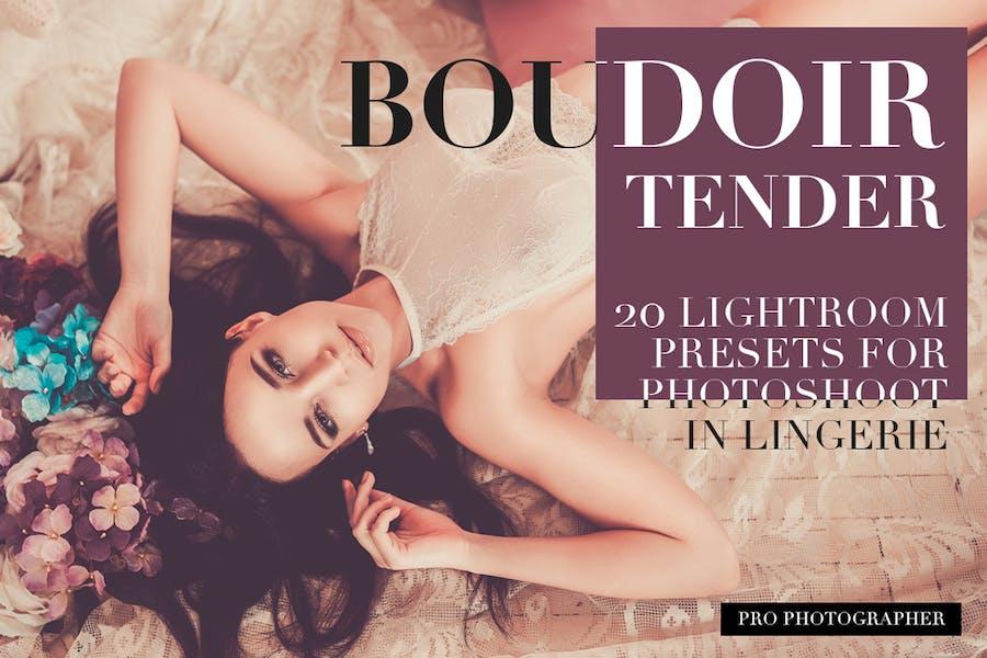Boudoir Tender Lightroom Presets
