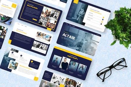 Altair - Finance Keynote Template