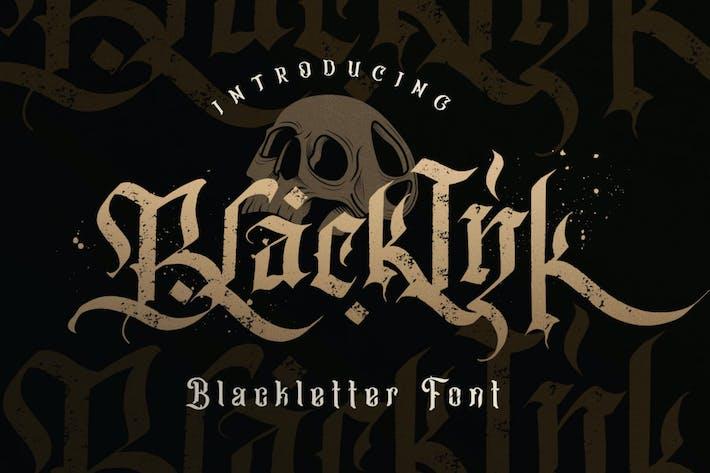 Thumbnail for Blackink - Blackletter Font