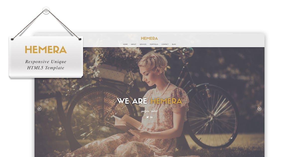 Hemera - Responsive Unique HTML 5 Template by IG_design