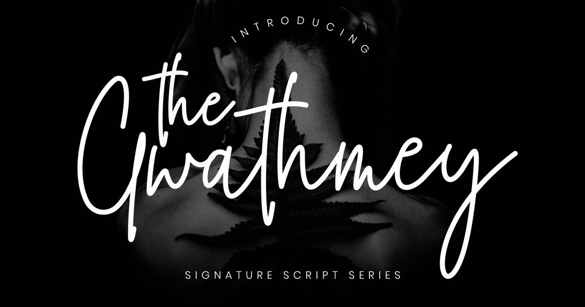 Download The Gwathmey Signature Script by RahardiCreative