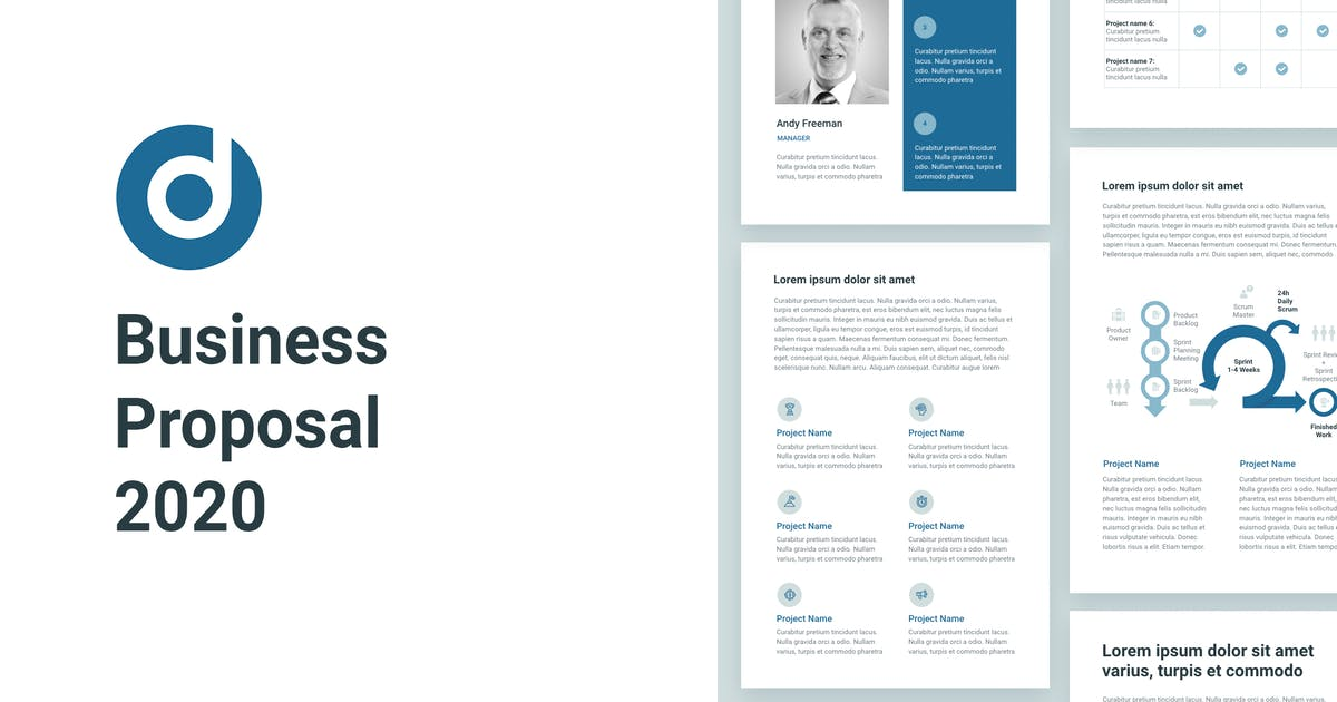 Download Business Proposal A4 PowerPoint by Site2max